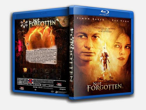 """""""Not Forgotten"""" bootleg Blu Ray cover art"""