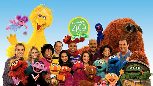 """Sesame Street"" cast 2009!"