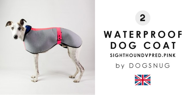 2ND WATER PROOF DOG COAT BY DOGSNUG
