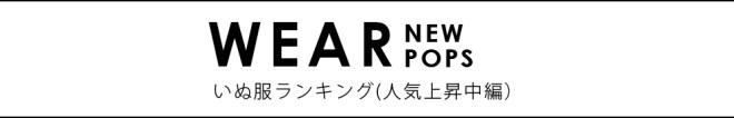 犬服ランキング(人気上昇中編)