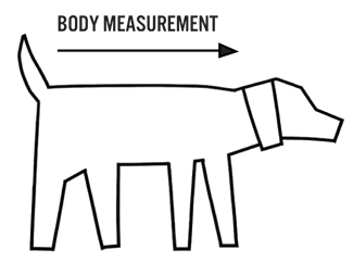 size chart by Ware of the dog