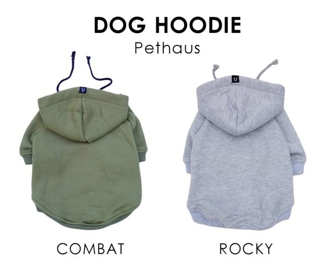 Pethaus dog hoodie / Combat & Rocky Balboa