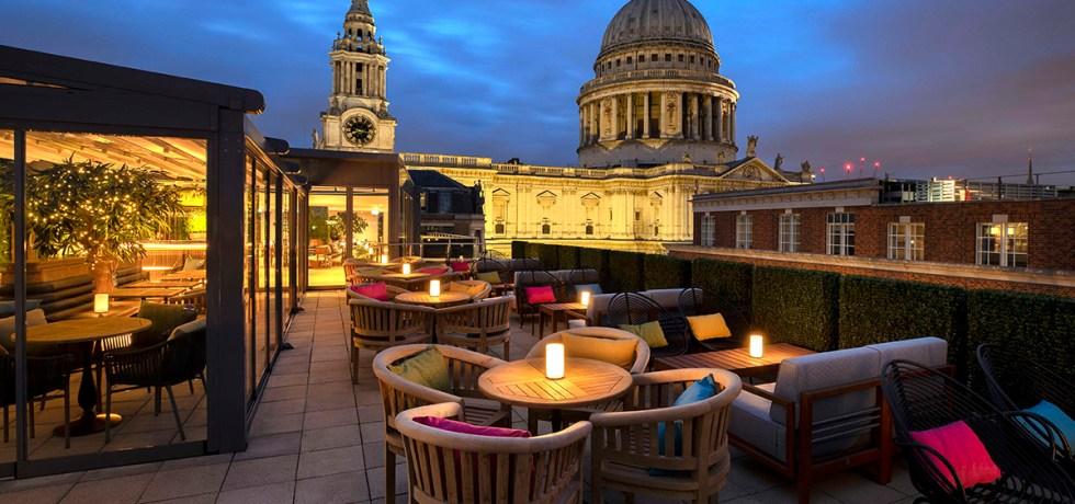 Sabine terrace rooftop bar