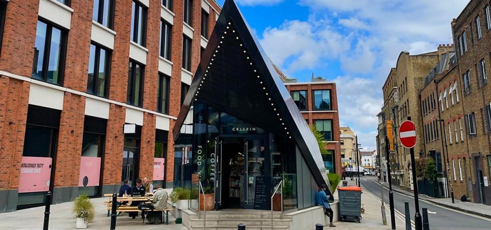 Crispin restaurant east london