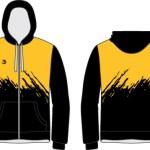 Beast Up Sublimated Team Travel Jacket BU-TJ010-product