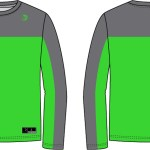 Beast Up Sublimated Warm Up Top BU-WUT003-product