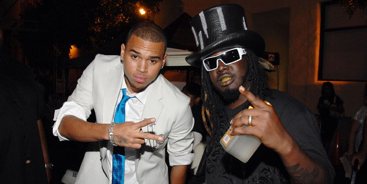 Image result for t pain and chris brown 2017
