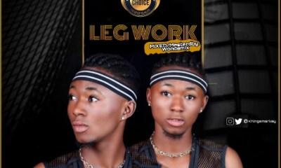 "[Music] Smarkey -""Legwork"" Feat Elyyungest (mixed. Wondermix) 10"