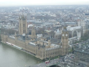 View from London Eye