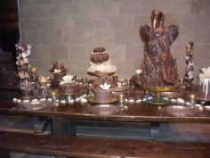 Chocolate food for the Yule Ball