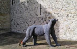 Sculpture of a bear
