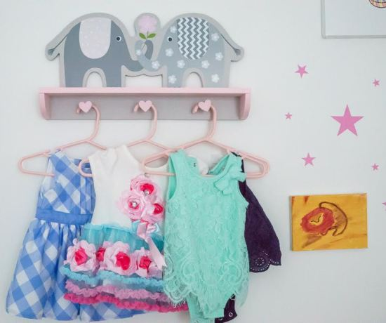 Baby nursery wall decorations
