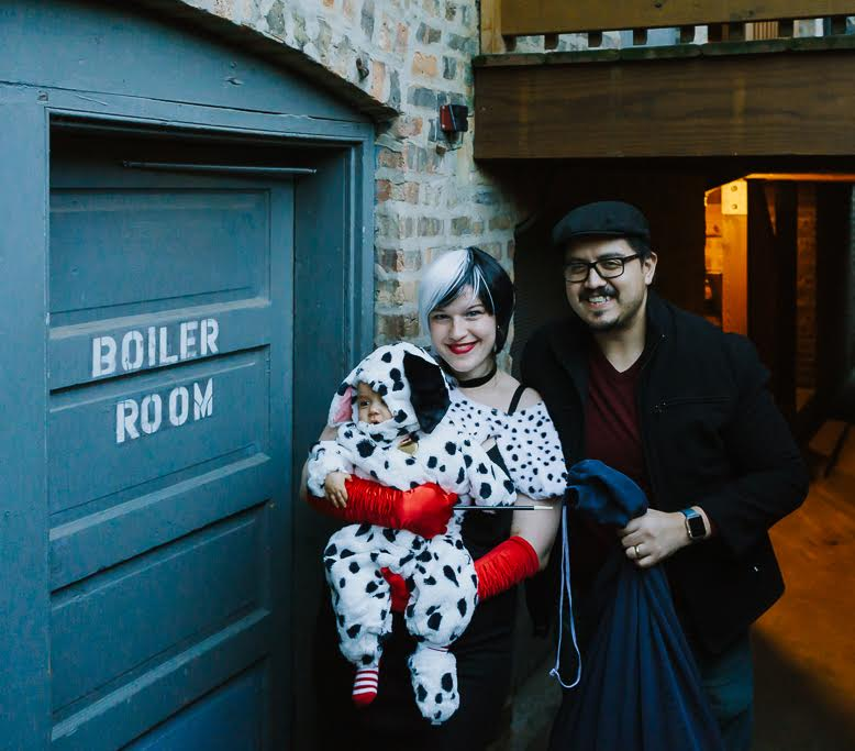 101 Dalmatians Family halloween costumes