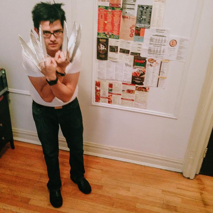 Wolverine halloween costume
