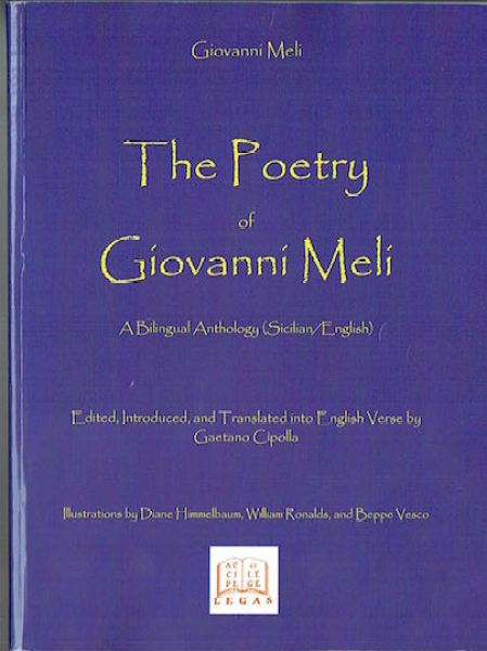 Copertina Antologia Giovanni Meli