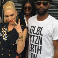 Fally Ipupa hangs out with Gwen Stefani & Others @ Global Citizen Earth Day