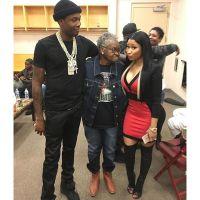 Nicki Minaj meets Meek Mill's Grandma (Photo)