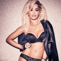 Rita Ora Looks Stunning For New Lingerie Campaign Ad (Photos)