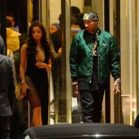 Tyga Exits His Hotel In Cannes With Rumored New Girlfriend (Photos)