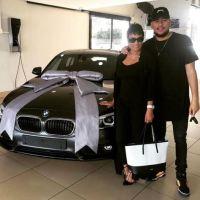 SA Rapper, AKA Gifts His Mum A Brand New BMW Car (Photos)