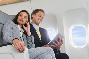 Flatulence on a plane