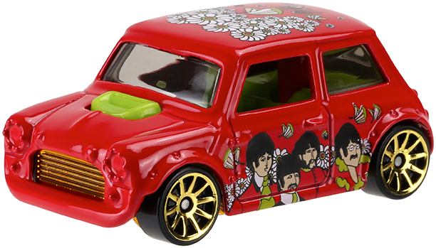 Beatles Hot Wheels 50th Anniversary Collection The Beatles