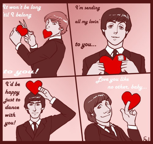 Happy Valentines Day The Beatles Facts Blog