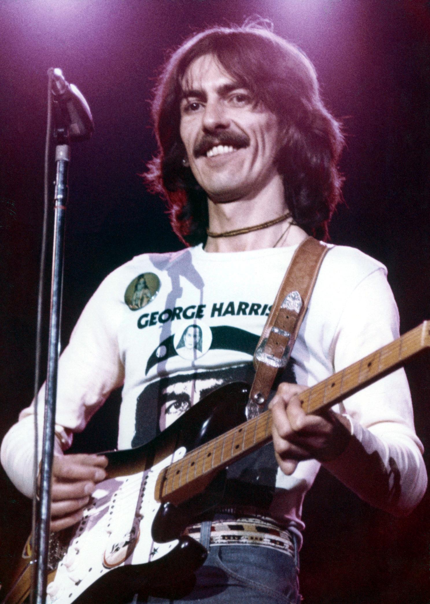 Image result for george harrison 1974