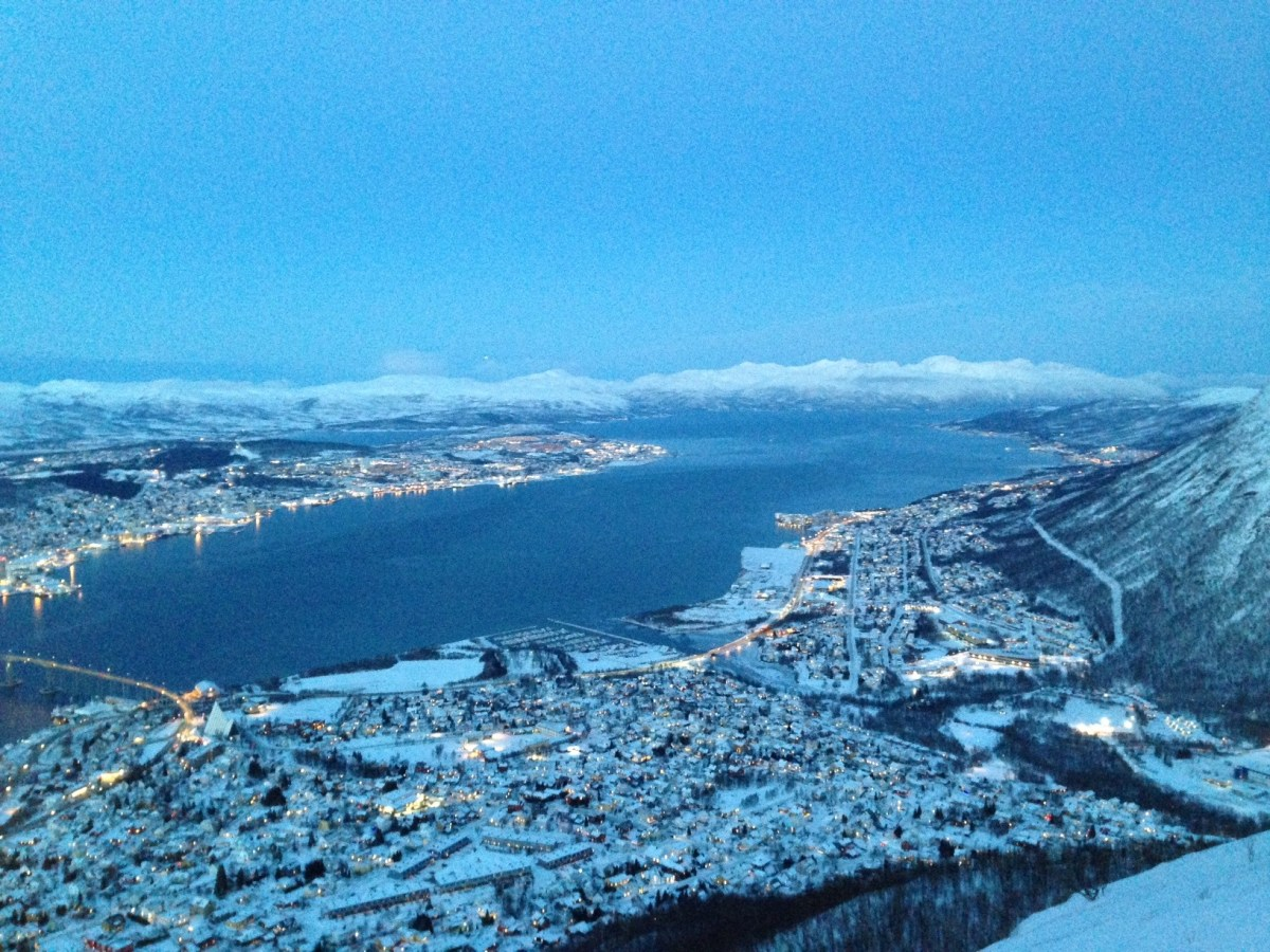 VIDEO: Fjellheisen in Tromsø: This Is Winter Wonderland!!