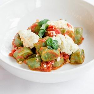 A gnocchi dish served at Ristorante Beatrice.