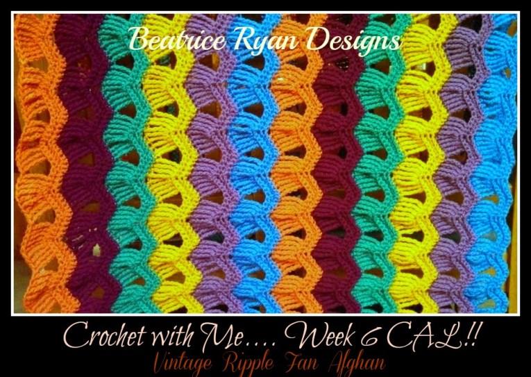 week 6 crochet with me CAL