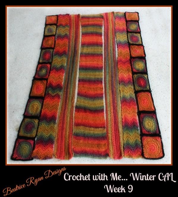 Crochet with me... Week 9 Unforgettable