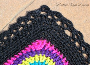 Crochet with me week 12 edging