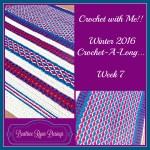 Crochet with Me!!! Crochet-A-Long… Week 7!!