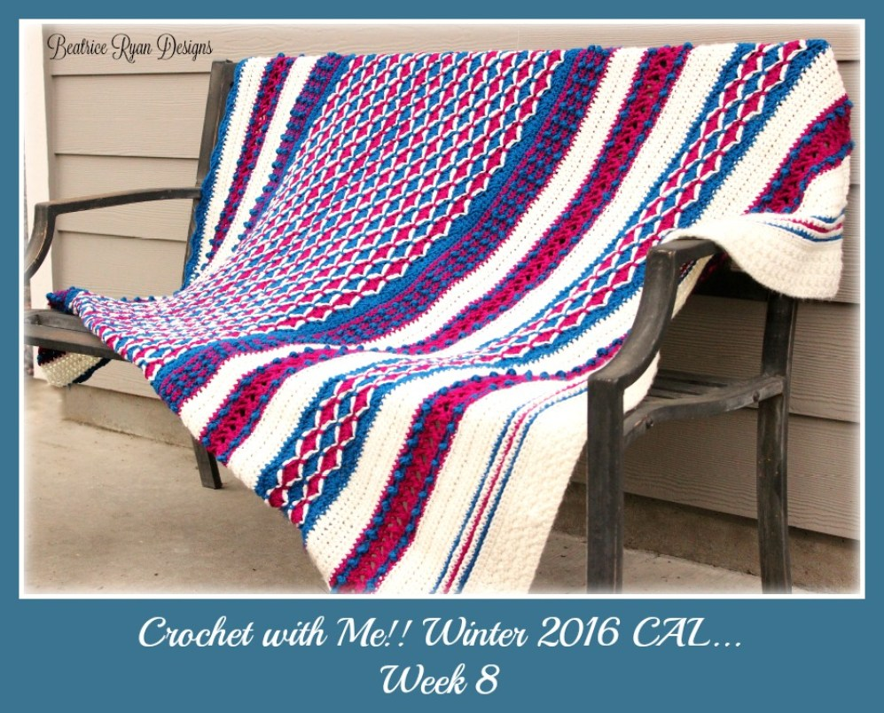 Crochet with Me week 8