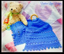 Blue Bells Teething Lovely... Free Crochet Pattern