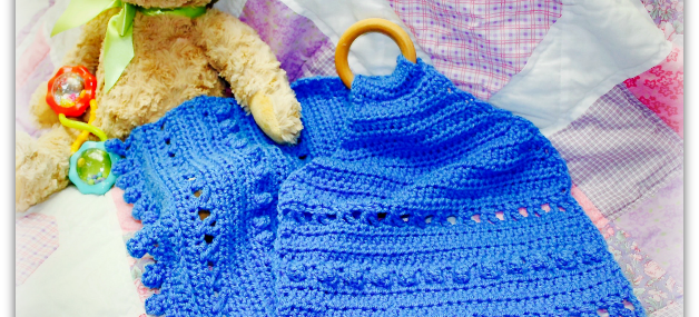 Blue Bell Teething Lovely… Free Crochet Pattern!!