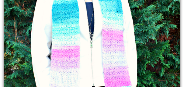 Amazing Grace Saturday Super Scarf…. New Free Crochet Pattern!!