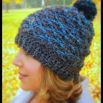 Steel Ridge Beanie… Free Crochet Pattern!!