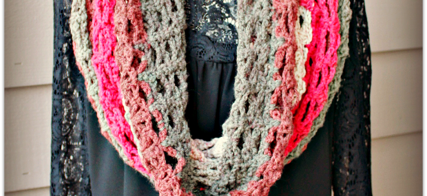 Winterberry Motiv-Up Cowl…新的免费钩针图案!!
