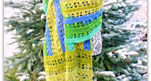 Irish Pub Shawl… Free Crochet Pattern