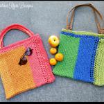 Summer Stripe Tote Bag… Free Crochet Pattern!!!