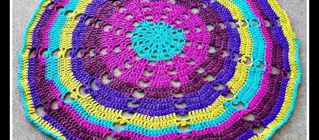 Sugar Wheel Baby Blanket Crochet Along… Week 3!!
