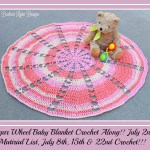 Sugar Wheel Baby Blanket Crochet Along… Material list!!!