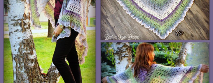 Amazing Grace Angel Wing Shawl… Free Crochet Pattern!
