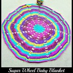 Sugar Wheel Baby Blanket.. Crochet Along Week 4!!