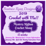 2019 Crochet With Me!! Mystery Afghan CAL… Material list!