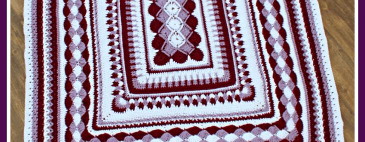 2019 Crochet with Me!! Mystery Afghan Crochet Along… Week 7!!!