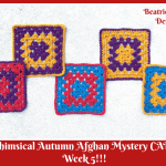Whimsical Autumn Afghan Mystery Crochet Along… Week 5!!