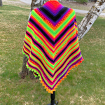 Beautifully Bright Shawl